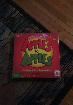 BRAND NEW UNOPENED APPLES TO APPLES BOARD GAME for Sale in Charlotte, NC
