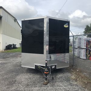 7 X 14 Enclosed Trailer With Ac for Sale in Riverview, FL