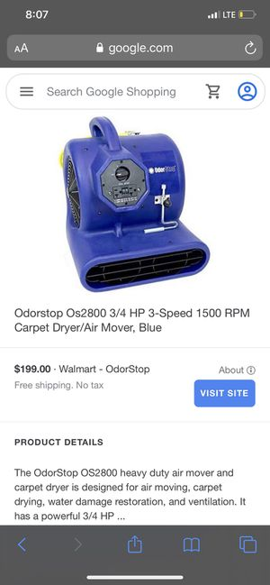 DID YOU RECENTLY BUY AIR MOVER CARPET DRYER? PLZ LOOK! for Sale in Gonzales, LA