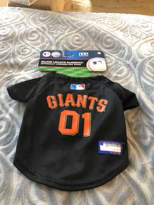 Giants dog jersey for Sale in San Pablo, CA