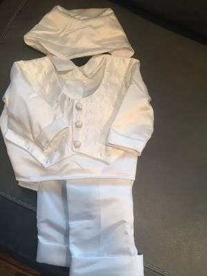 Baby boy baptism outfit for Sale, used for sale  West Caldwell, NJ