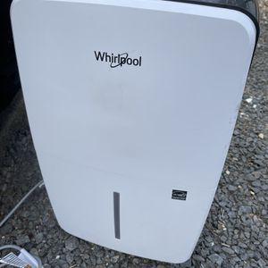 Whirlpool Dehumidifier 70-pint for Sale in McLean, VA