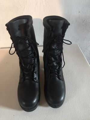 Men Army Leather boots for Sale in Philadelphia, PA