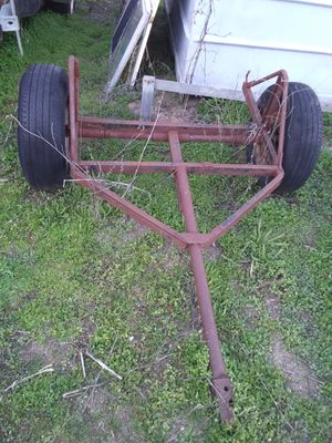 Little home made yard trailer frame for Sale in Lakeside, CA