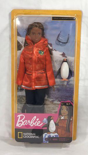 Mattel Barbie National Geographic Wildlife Polar Marine Biologist w/Penguin for Sale in Houston, TX