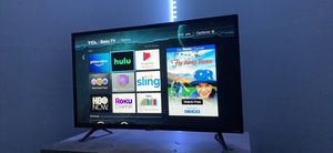 "32"" TCL•ROKU SMART TV for Sale in Summerville, SC"