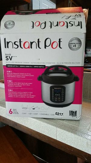 Instant Pot DUO SV 6qt for Sale in Madera, CA