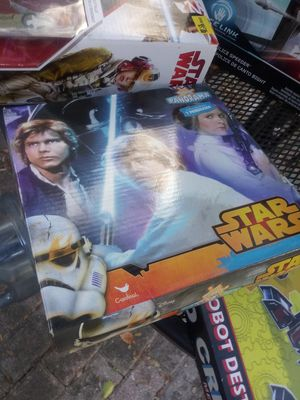 Star Wars action figure board games for Sale in Tampa, FL