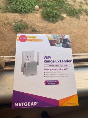 NetGear netgear WIFI dual band range extender for Sale in Phoenix, AZ