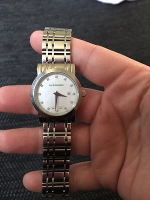 Women's Burberry Watch with diamond numbering for Sale in Galloway, OH