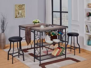 👉 ♥️$39 down payment🎈- 💎 Rigel 3-Piece Counter Height Set | 3481 for Sale in Laurel, MD