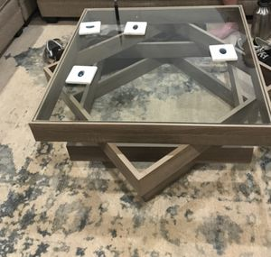 Beautifully crafted and fashionable coffee table for Sale in Santa Monica, CA