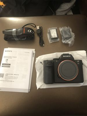 Brand New Sony A7 ii (NO BOX) for Sale in Newark, CA
