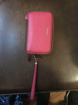 Coach wallet pink for Sale in Detroit, MI