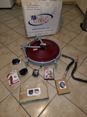 ab circle pro model 339.new in box $100 Firm in price for Sale in Moreno Valley, CA