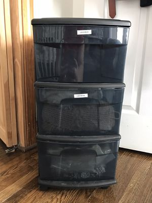 3 drawer medium storage cart for Sale in Malden, MA