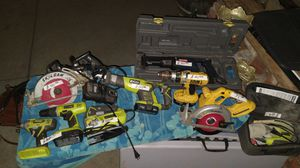 Cordless power tools for Sale in Los Gatos, CA