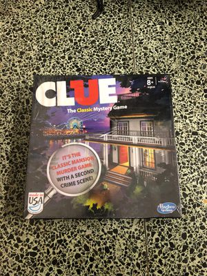 Unopened Clue board game for Sale in Fort Worth, TX