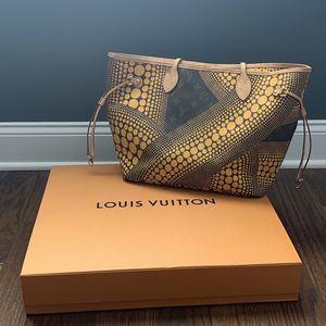 Louis Vuitton Yayoi Kusama Yellow Neverfull MM Bag for Sale in Inverness, IL