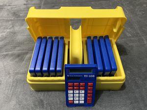 TI-108 teachers calculator set for Sale in San Diego, CA