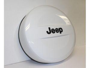 2018 Jeep Wrangler White Tire Cover for Sale in Arlington, VA