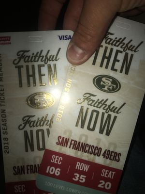 Tickets half off!! Any team/game/ or show ! for Sale in Foster City, CA