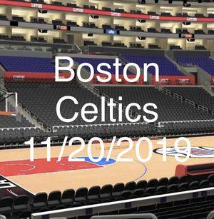 Boston Celtics VS LA CLIPPERS ROW 10 club seats 2 tickets for Sale in Torrance, CA