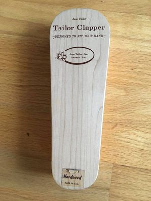 Hardwood June Tailor Clapper. Made in the USA for Sale in Steilacoom, WA
