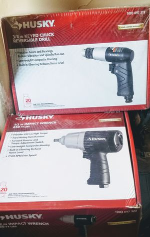 HUSKY IMPACT WRENCH AND DRILL NEW for Sale in Jersey City, NJ