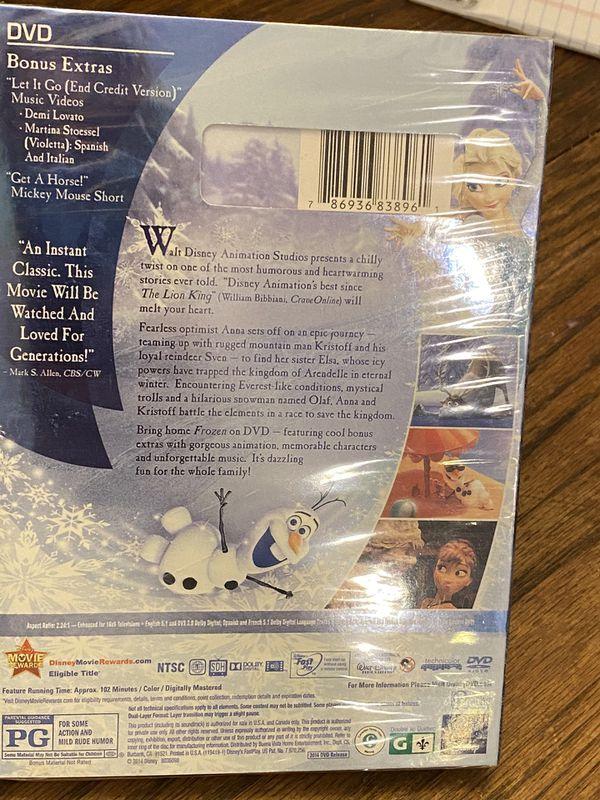 Disney's Frozen movie NIB / NIP DVD