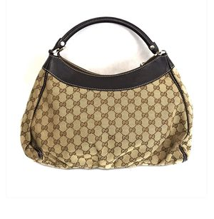 Authentic Gucci GG canvas D ring hobo bag for Sale in Phoenix, AZ