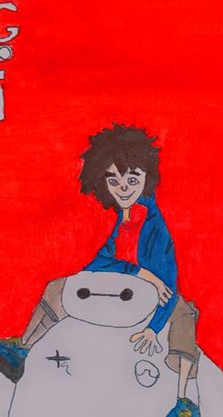 9x12 Big Hero 6 Painting for Sale in Sterling Heights,  MI