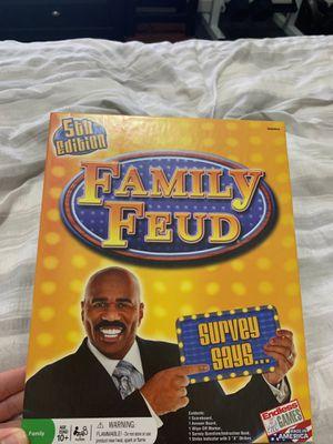 Family Feud Board Game for Sale in Tamarac, FL