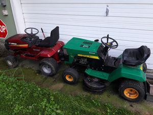 Murray and weed eater riding lawn mowers for Sale in Griffith, IN