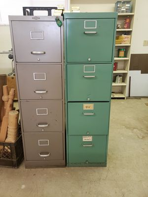 4 drawer file cabinets for Sale in Colorado Springs, CO