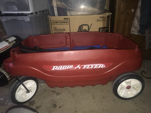 Kids toy red wagon for Sale in Richmond, CA