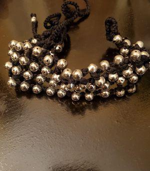 Choker, hand made, crochet plus metal beads for Sale in Delray Beach, FL