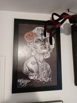 Day of the dead marilyn monroe picture for Sale in Perris, CA