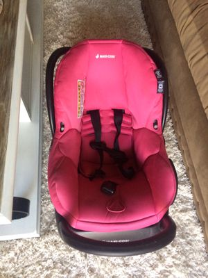 Maxi•Cosí Baby Car Seat &Cover for Sale in Grand Prairie, TX