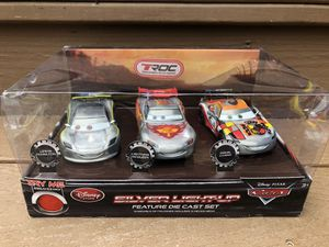 Disney Cars Silver Light-up Die Cast Set for Sale in Red Lion, PA