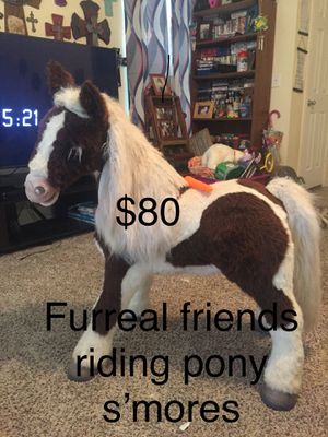 S'mores pony furreal friends toy for Sale in Montgomery, TX