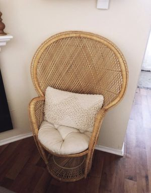 Vintage Peacock Chair for Sale in San Diego, CA
