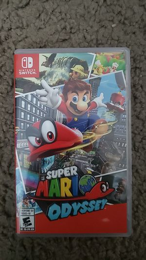 Super Mario Odyssey Nintendo Switch for Sale in Miami, FL