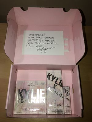 Kylie Cosmetics x Balmain Paris Bundle Brand New for Sale in Queens, NY