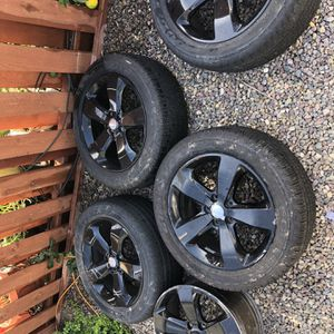 20in Jeep Wheels And Tires for Sale in Encinitas, CA