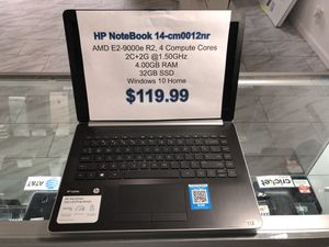 HP NoteBook 14-CM0012NR for Sale in Portland, OR