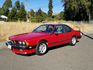 1986 BMW 635csi ~ Clean Title ~ Cash only for Sale in Hayward, CA