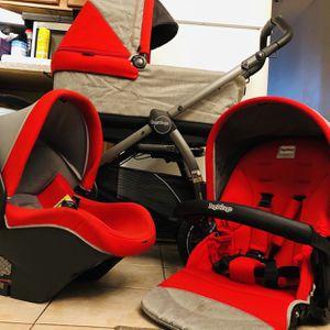 Peg Prego 3 in 1 Stroller Set for Sale in Staten Island, NY