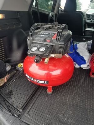 Porter cable 6g electric air compressor for Sale in Selma, CA
