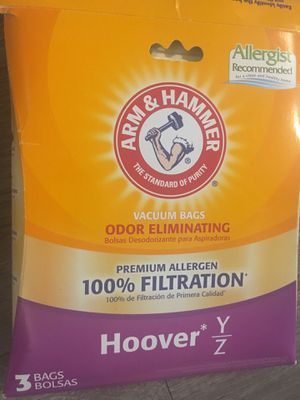 Hoover Vacuum Bags Type Y for Sale in Oceanside, CA